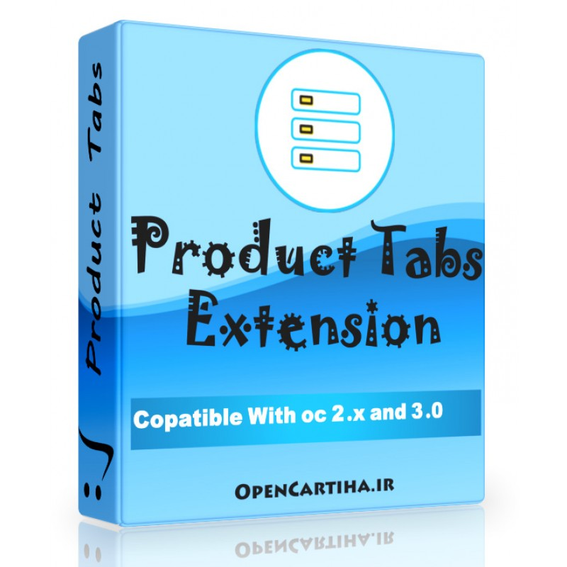 OpenCart Product Tabs Extension