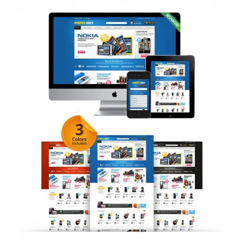 Boss Mobile Store OpenCart Theme