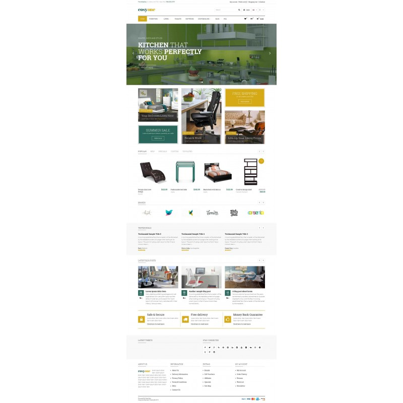 CosyOne - Permium Multipurpose Opencart Theme