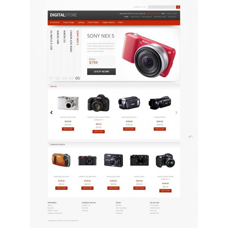 Digital Store Responsive OpenCart Theme