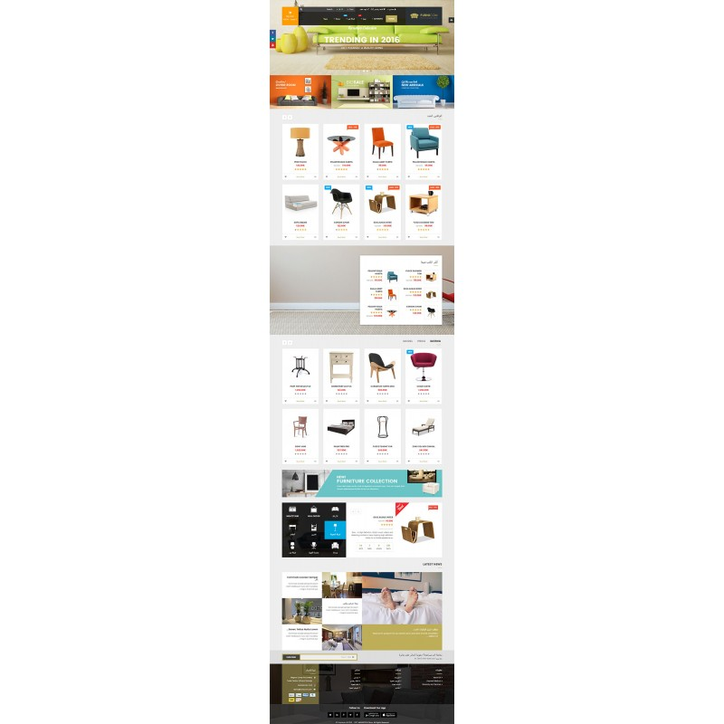Furnicom Responsive MultiPurpose OpenCart Theme