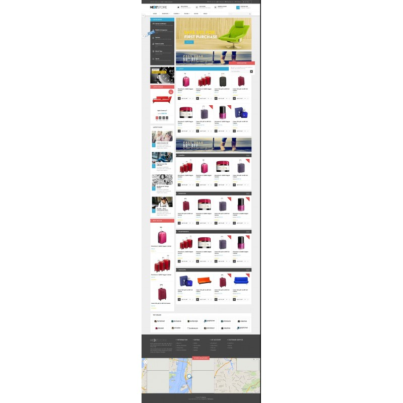 Lexus Next Store Responsive OpenCart Theme
