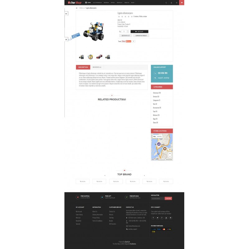 Pav OneShop Responsive OpenCart Theme